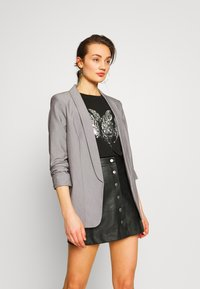 Pieces - PCBOSS  - Blazer - light grey melange - 0