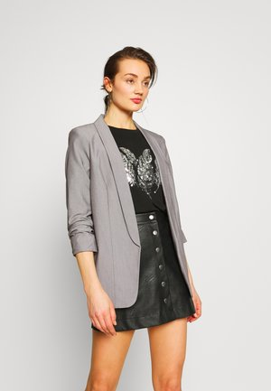 PCBOSS  - Blazer - light grey melange
