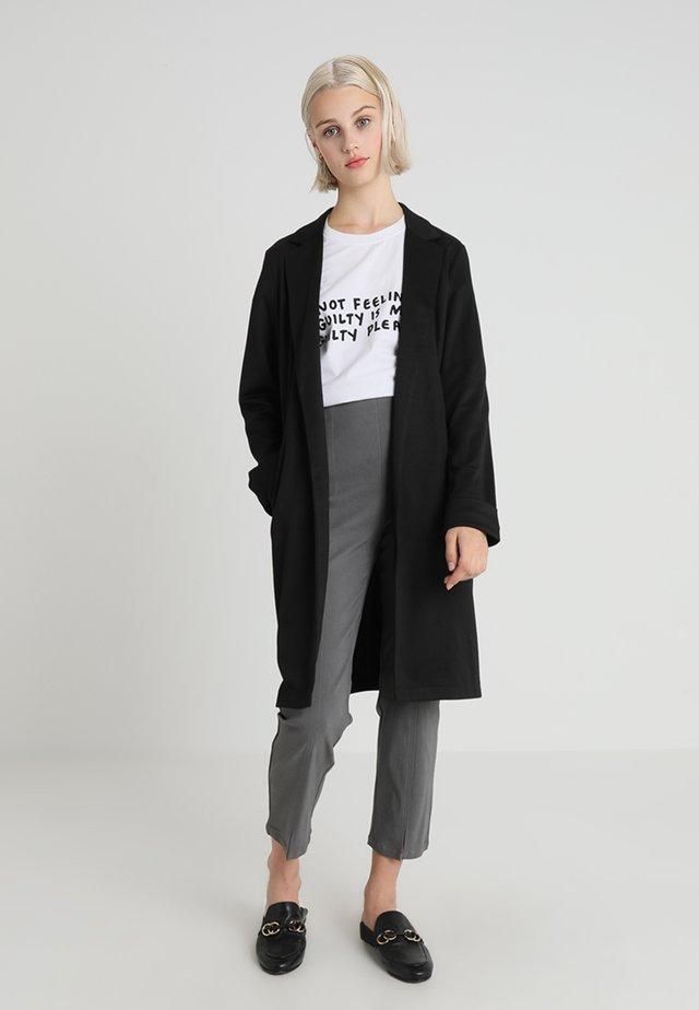 PCLORI - Płaszcz wełniany /Płaszcz klasyczny - black