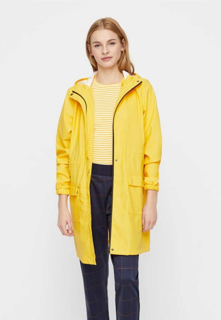 Pieces - Parka - yellow