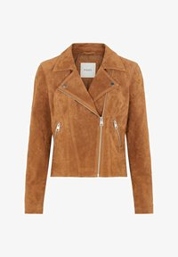 Pieces - Leather jacket - toasted coconut - 4
