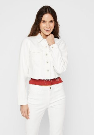 Denim jacket - bright white