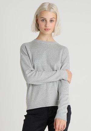 PCLISA - Jumper - light grey melange
