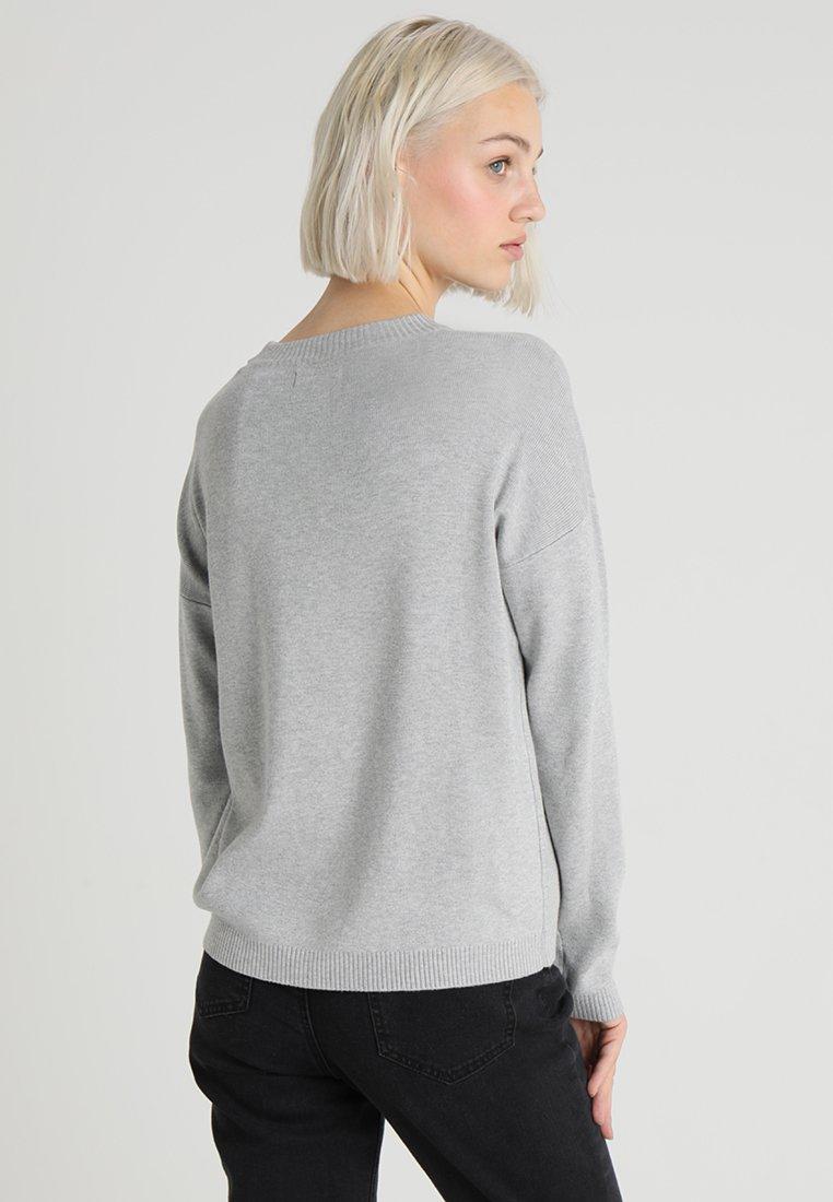 Pieces Pclisa - Jumper Light Grey Melange