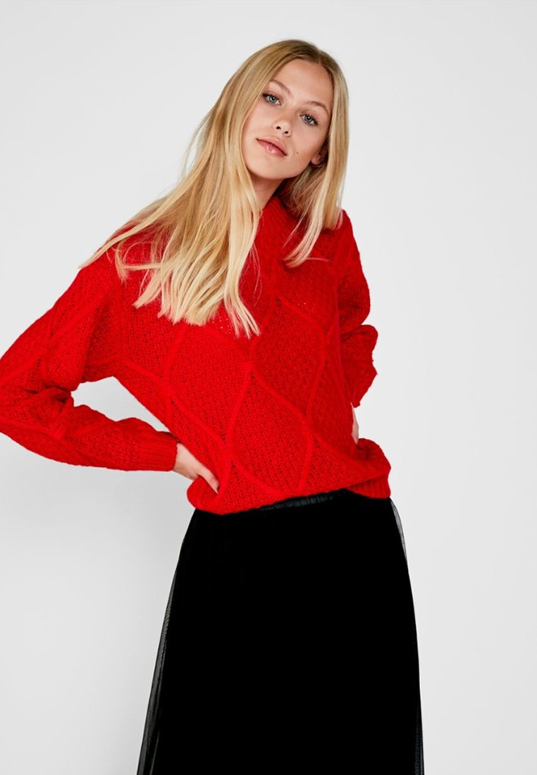 Pieces - PCDELLY - Jumper - high risk red