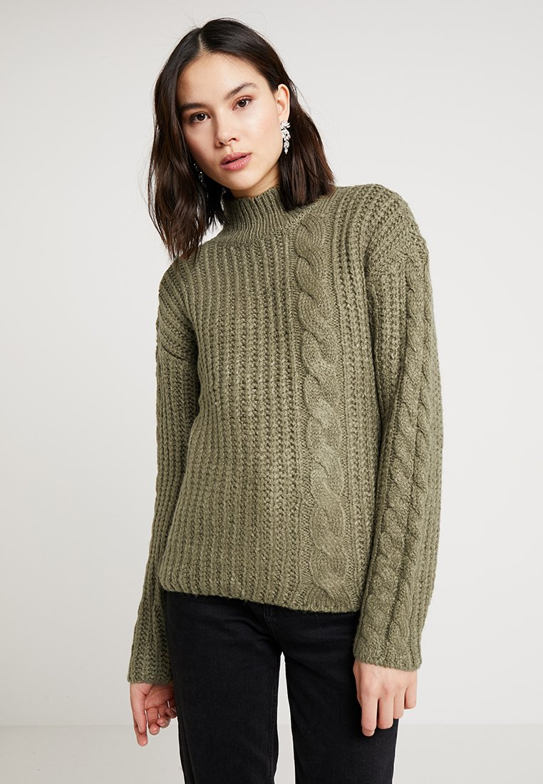 Pieces - PCDELLY - Jumper - covert green