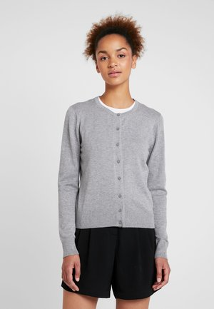 PCHINE - Cardigan - light grey melange