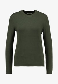 Pieces - PCHESERA KNIT - Jumper - forest night - 4