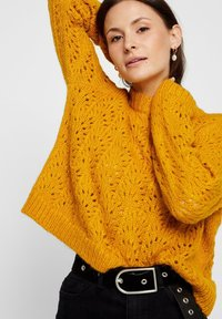 Pieces - Pullover - yellow - 3