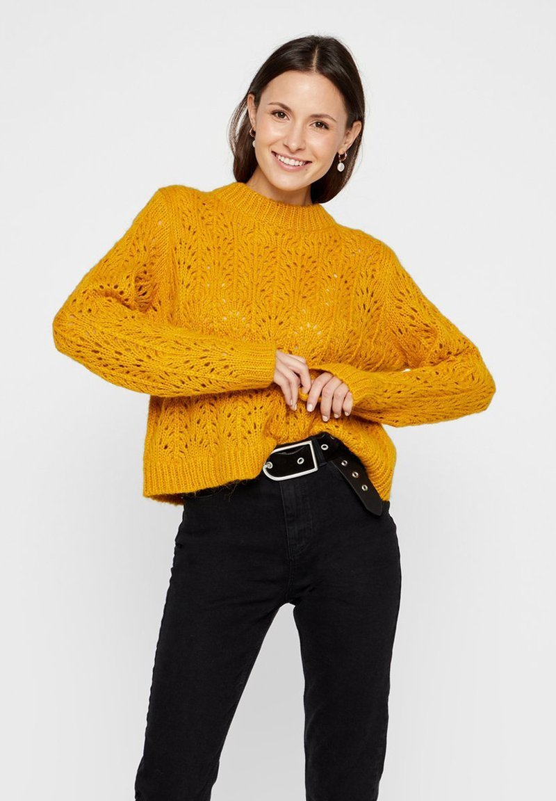 Pieces - Pullover - yellow