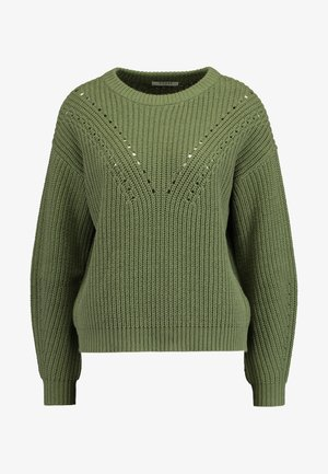 O-NECK  CAMP - Svetr - deep lichen green