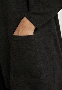 Pieces - PCJANNIS CARDIGAN - Vest - black - 4