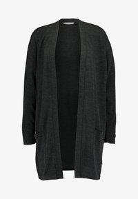 Pieces - PCJANNIS CARDIGAN - Vest - black - 3