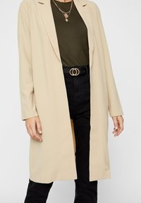 Pieces - Manteau court - white pepper - 3