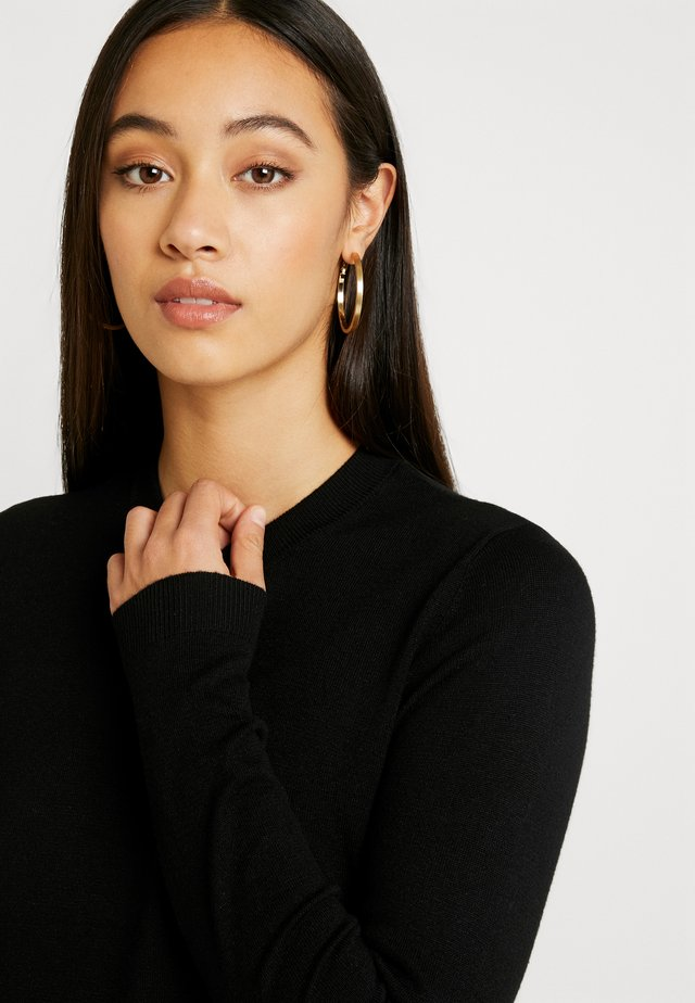 PCESERA - Sweter - black