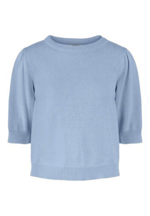 PUFFÄRMEL - Strikpullover /Striktrøjer - kentucky blue