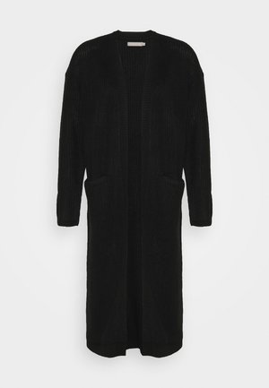 PCSANDRA LONG COATIGAN - Cardigan - black
