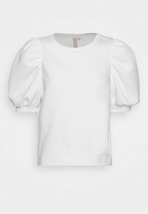 PCJASSI - T-shirt imprimé - bright white