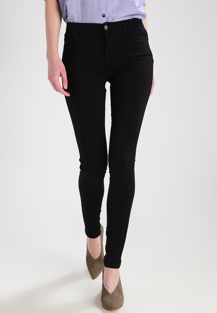 Pieces - PCSKIN WEAR  - Trousers - black