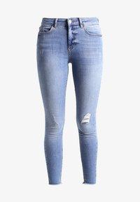 Pieces - PCFIVE DELLY - Skinny džíny - light blue denim - 6
