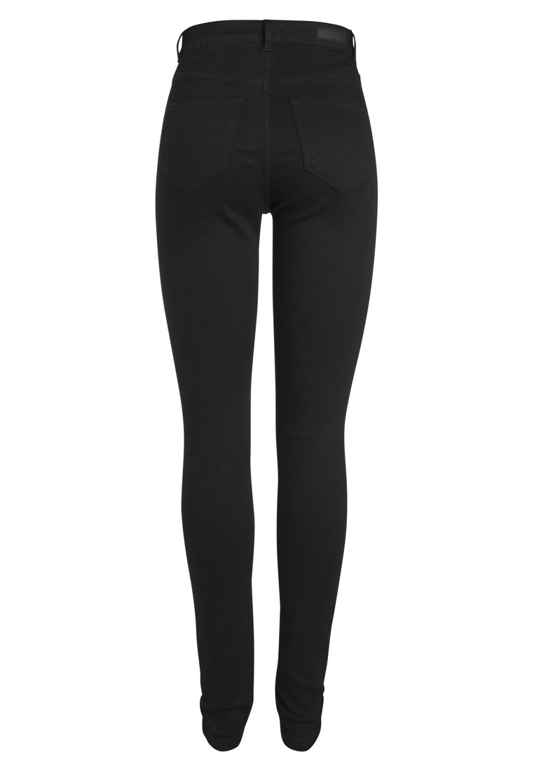 Pieces Jeansy Skinny Fit - black