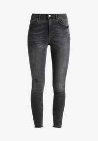 Pieces - PCFIVE DELLY  - Jeans Skinny Fit - light grey denim - 4