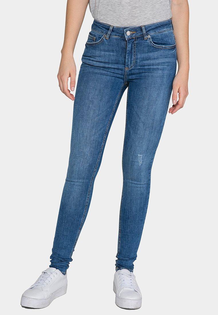 Blue Denim Pieces SlimMedium SlimMedium Jean Pieces Jean Jean Blue Pieces SlimMedium Denim RL4j3A5