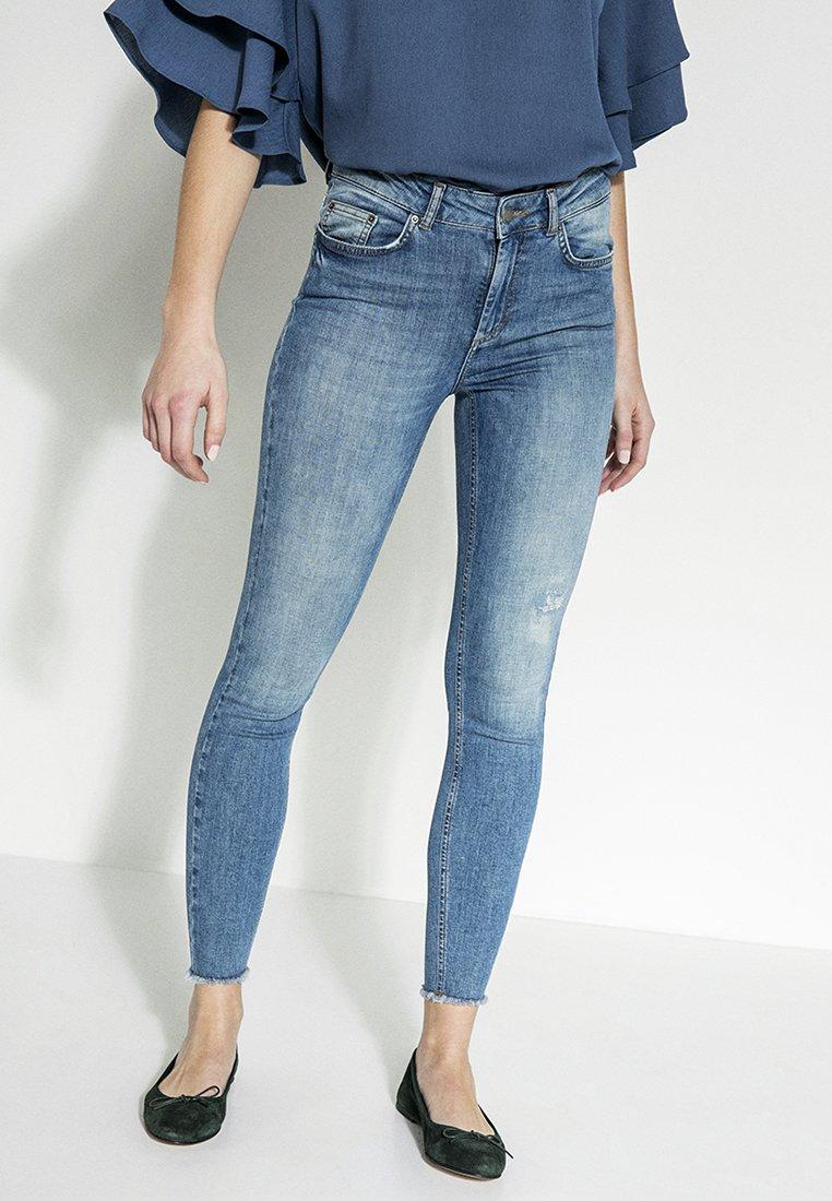 Pieces - Jeans Slim Fit - light blue