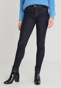 Pieces - PCFIVE DELLY - Skinny džíny - dark blue denim - 0