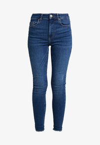 Pieces - PCDELLY - Vaqueros pitillo - medium blue denim - 5
