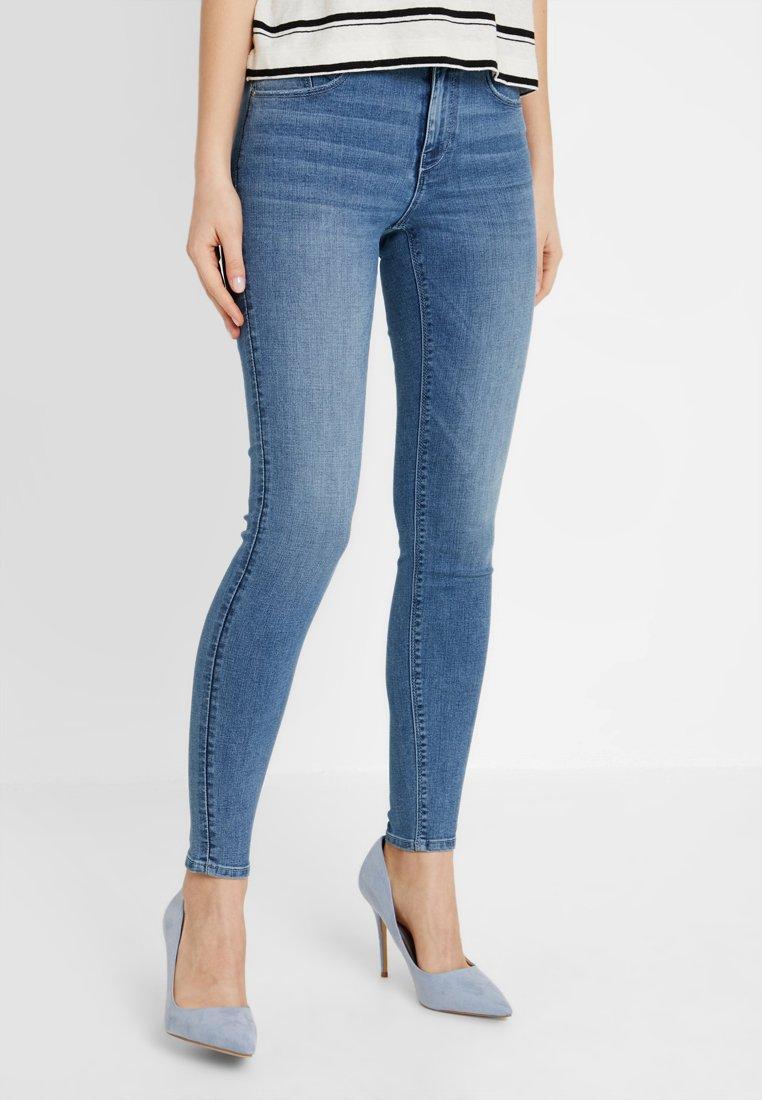 Pieces - Jeans Skinny Fit - light blue denim
