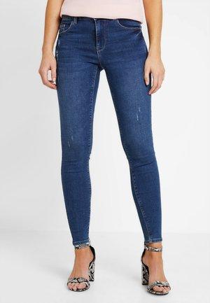 PCBREE - Skinny džíny - medium blue denim
