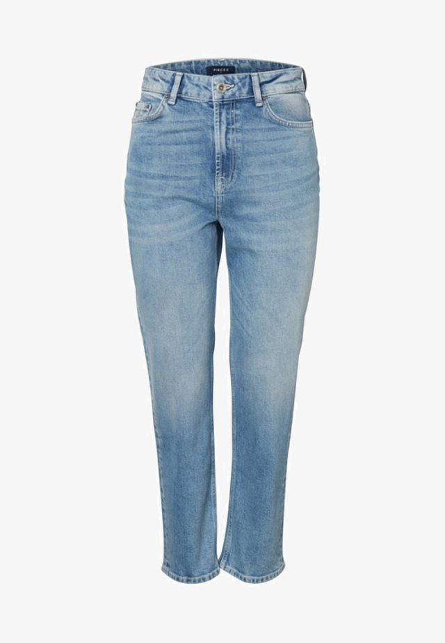 Jeansy Straight Leg - light blue denim