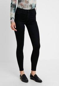 Pieces - Jean slim - black - 0