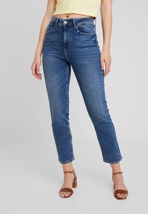 PCASTA - Jeans Straight Leg - medium blue denim