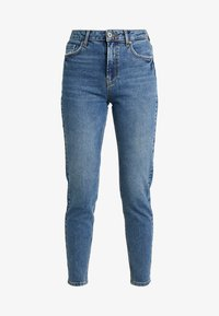 Pieces - PCLEAH MOM - Relaxed fit jeans - medium blue denim - 4