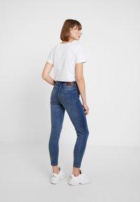 Pieces - PCJAMIE - Jeans Skinny Fit - dark blue denim - 2
