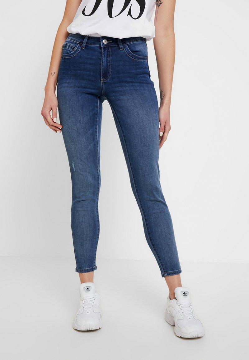 Pieces - PCJAMIE - Jeans Skinny Fit - dark blue denim