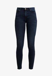 Pieces - Skinny džíny - dark blue denim - 4