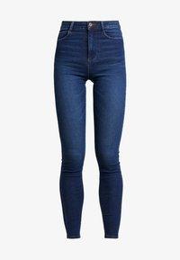 Pieces - Jeans Skinny Fit - dark blue denim - 4