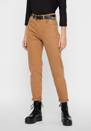 Relaxed fit jeans - toasted coconut