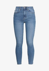 Pieces - NORA - Jeansy Skinny Fit - light blue denim - 4