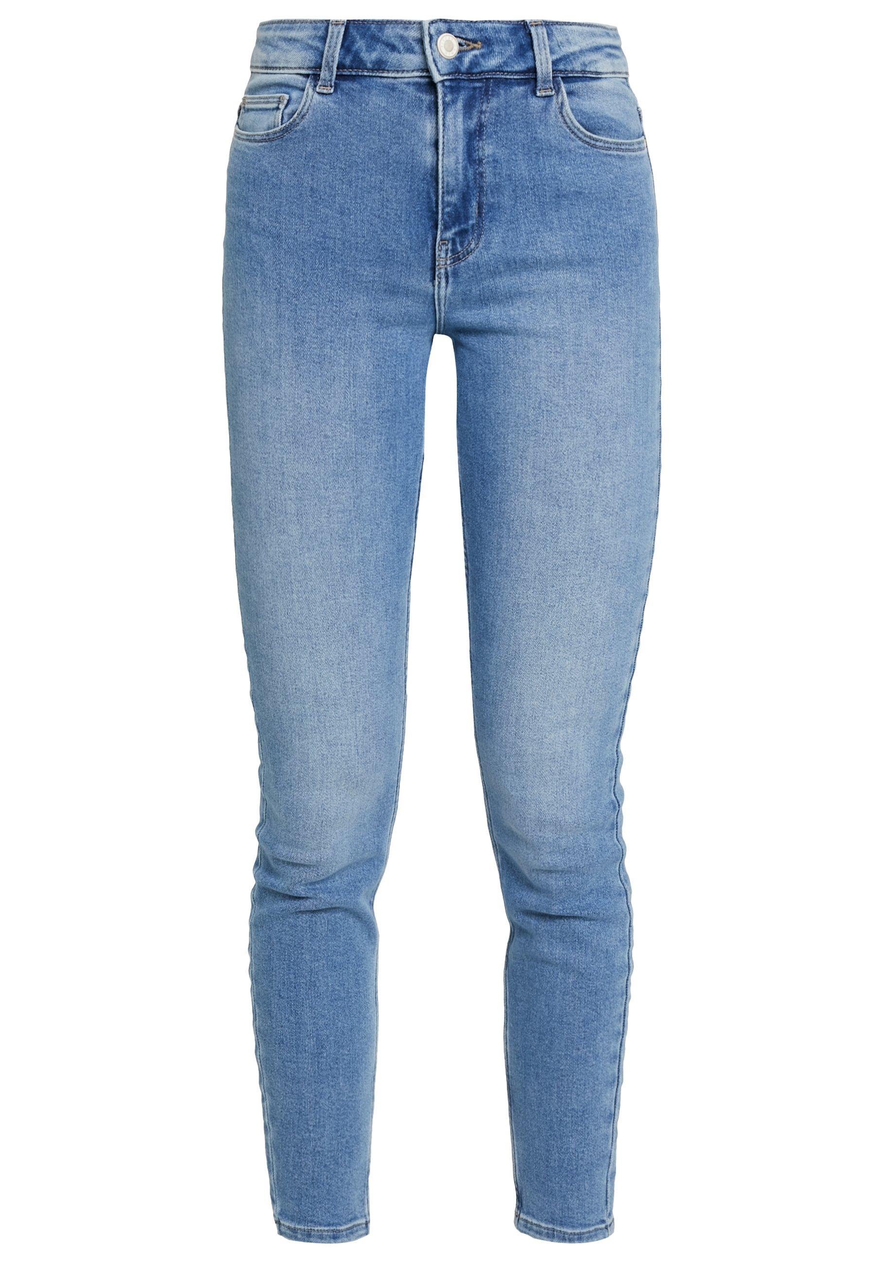 Pieces Pckamelia - Jeans Skinny Light Blue Denim
