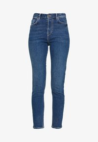 Pieces - Slim fit jeans - dark blue - 4