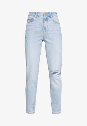 PCLEAH MOM - Jeans Relaxed Fit - light blue denim