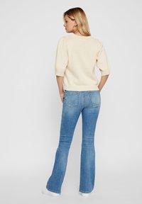Pieces - Flared Jeans - light blue denim - 2