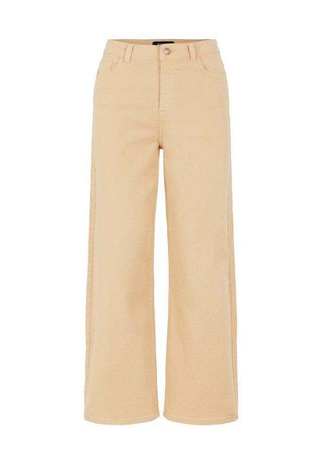 Jeans Straight Leg - warm sand