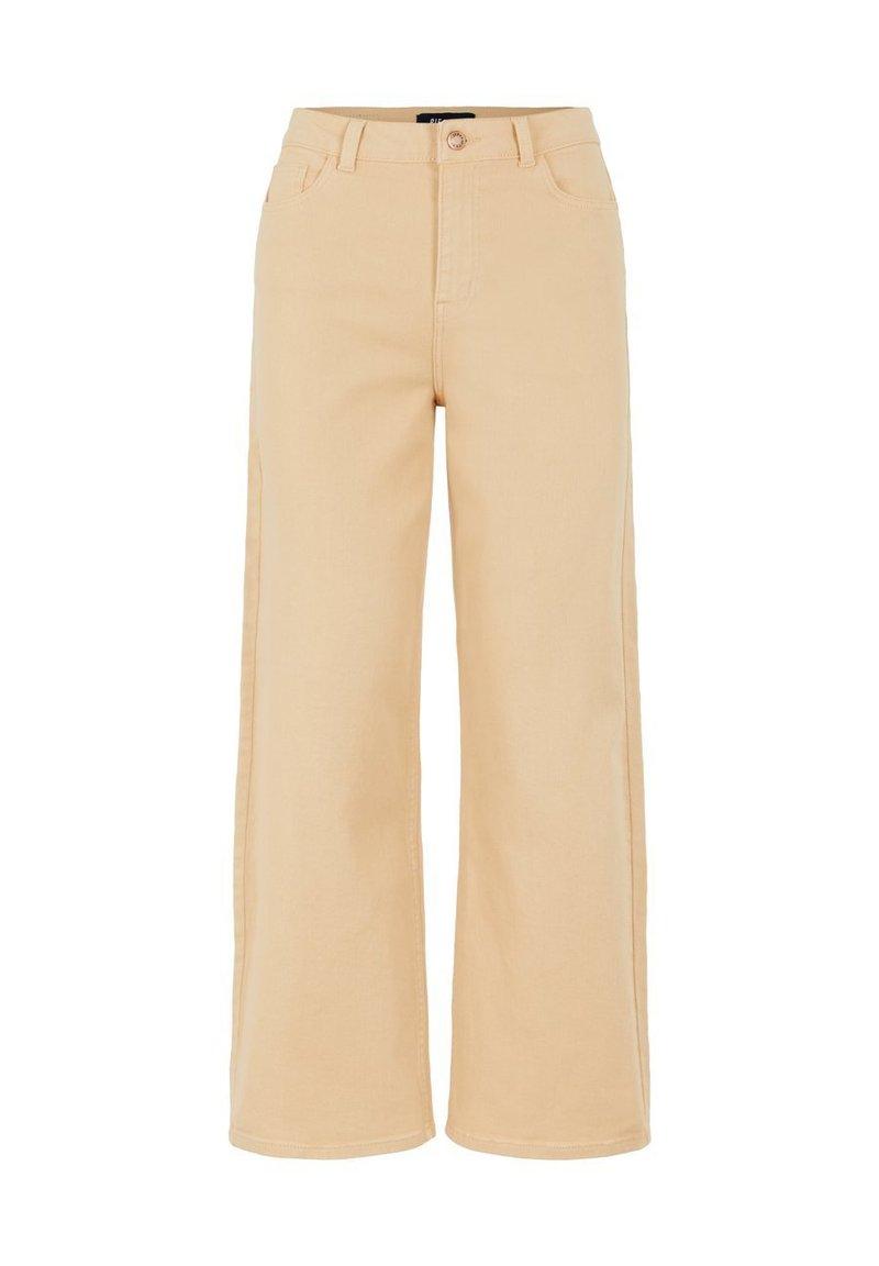 Pieces - Straight leg jeans - warm sand
