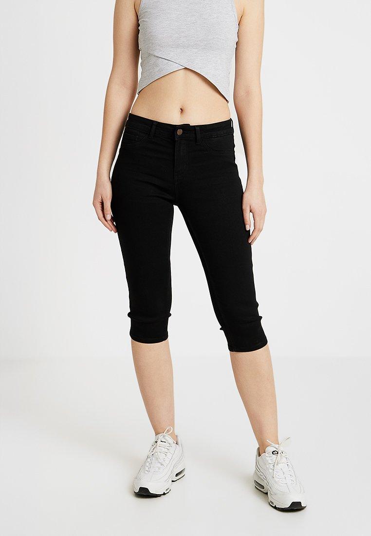 Pieces - PCSAGE SHAPE UP KNICKERS  - Jeans Shorts - black