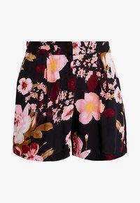 Pieces - PCHAWAII BOX - Shorts - black - 3